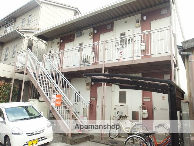 高知県高知市、桟橋通二丁目駅徒歩4分の築30年 2階建の賃貸アパート