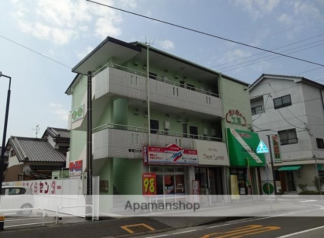高知県高知市、鴨部駅徒歩7分の築23年 3階建の賃貸アパート
