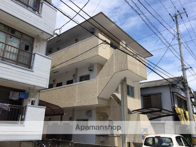 高知県高知市、桟橋通二丁目駅徒歩7分の築31年 3階建の賃貸アパート