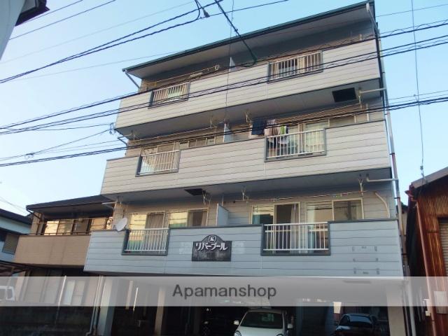 高知県高知市、桟橋通三丁目駅徒歩12分の築22年 4階建の賃貸マンション