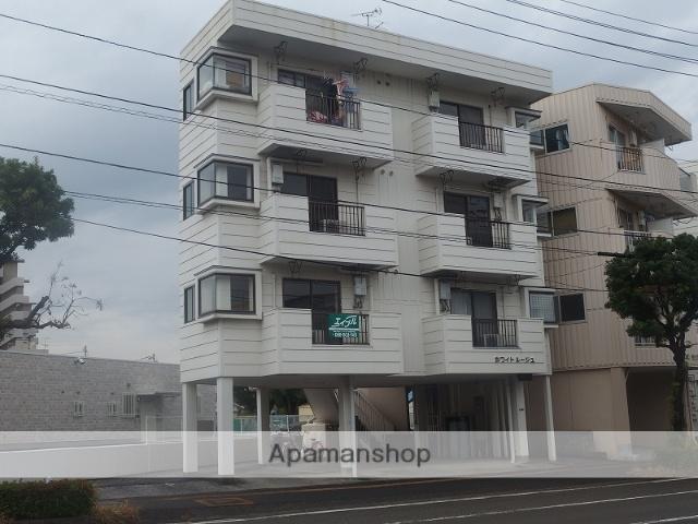 高知県高知市、葛島橋東詰駅徒歩7分の築29年 4階建の賃貸アパート