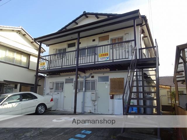 高知県高知市、上町五丁目駅徒歩19分の築37年 2階建の賃貸アパート