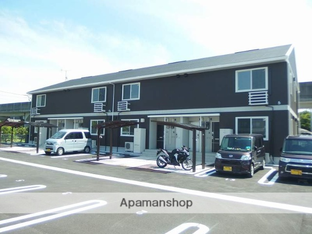 高知県南国市、後免町駅徒歩6分の新築 2階建の賃貸アパート