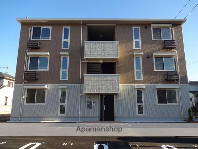 高知県高知市、鴨部駅徒歩19分の築1年 3階建の賃貸アパート