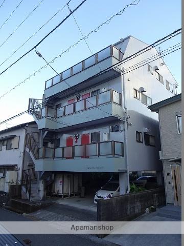 高知県高知市、鴨部駅徒歩15分の築27年 4階建の賃貸アパート