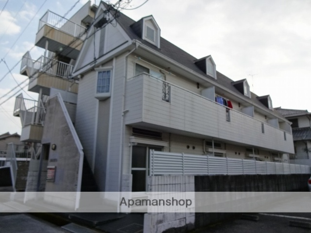高知県高知市、県立美術館通駅徒歩11分の築21年 2階建の賃貸アパート