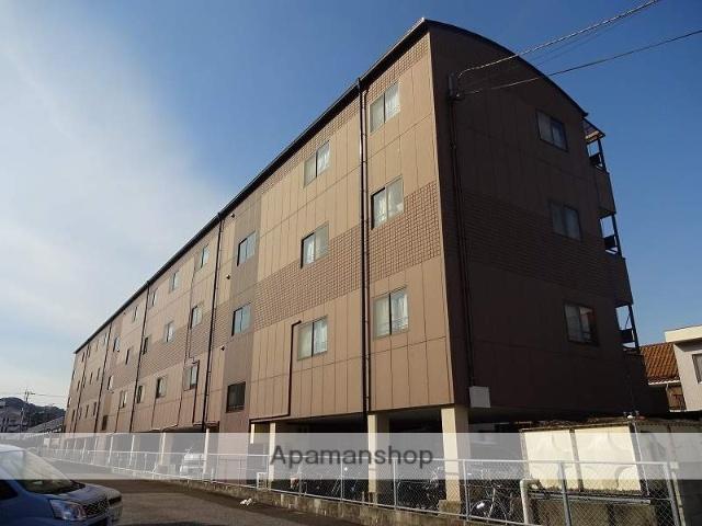 高知県高知市、東新木駅徒歩7分の築19年 4階建の賃貸マンション
