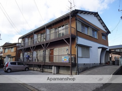 高知県高知市の築40年 2階建の賃貸アパート