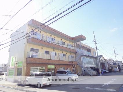 高知県高知市、田辺島通駅徒歩12分の築25年 3階建の賃貸アパート