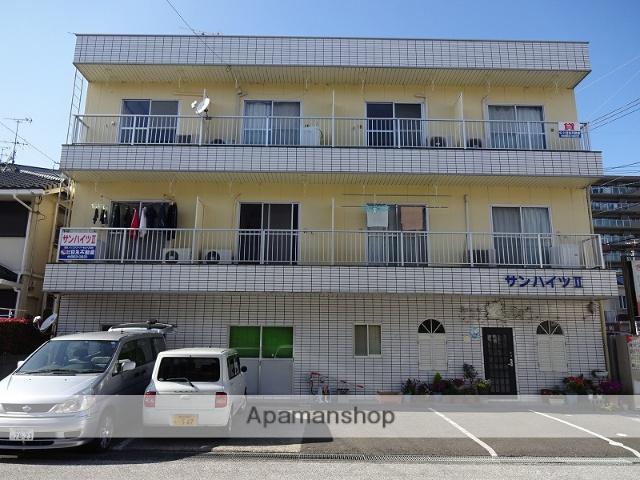 高知県高知市、田辺島通駅徒歩12分の築27年 3階建の賃貸マンション