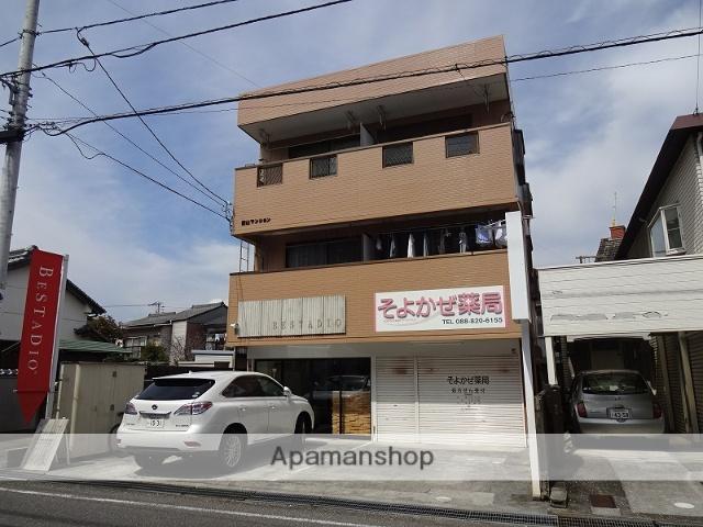 高知県高知市、薊野駅徒歩16分の築22年 3階建の賃貸マンション