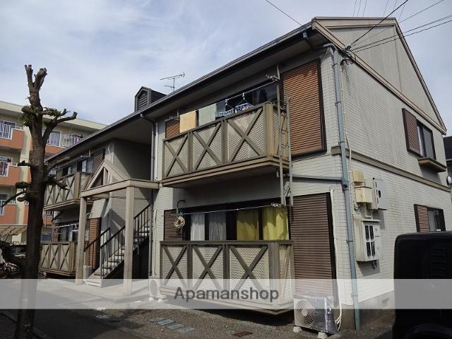 高知県高知市、上町五丁目駅徒歩20分の築24年 2階建の賃貸アパート