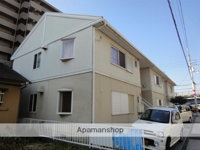 高知県高知市、知寄町一丁目駅徒歩13分の築26年 2階建の賃貸アパート