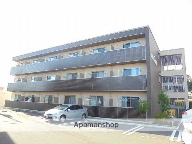 高知県高知市、高知駅徒歩18分の新築 3階建の賃貸マンション