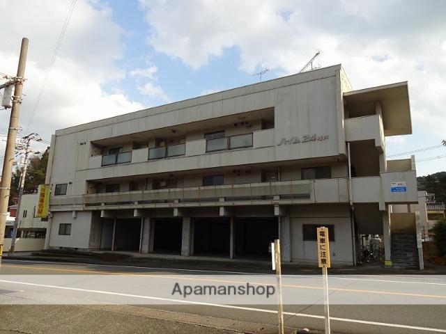 高知県高知市、朝倉神社前駅徒歩12分の築47年 3階建の賃貸マンション