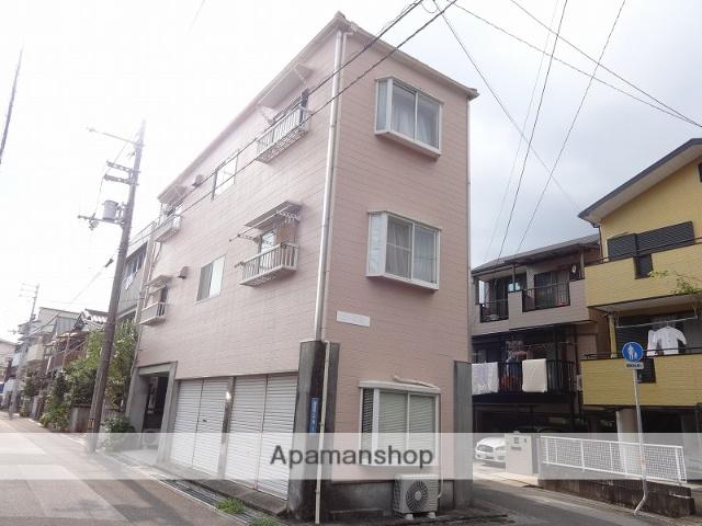 高知県高知市、枡形駅徒歩7分の築30年 3階建の賃貸アパート