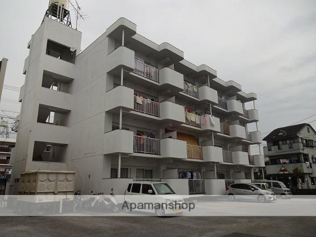 高知県高知市、文珠通駅徒歩8分の築32年 4階建の賃貸マンション