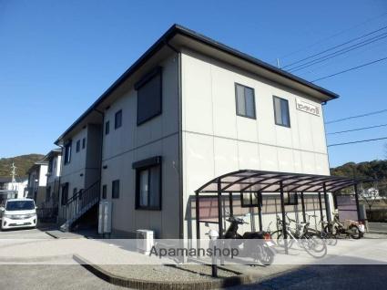 高知県南国市の築18年 2階建の賃貸アパート