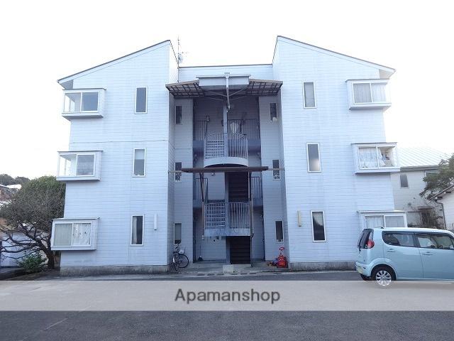 高知県高知市、円行寺口駅徒歩11分の築30年 3階建の賃貸マンション