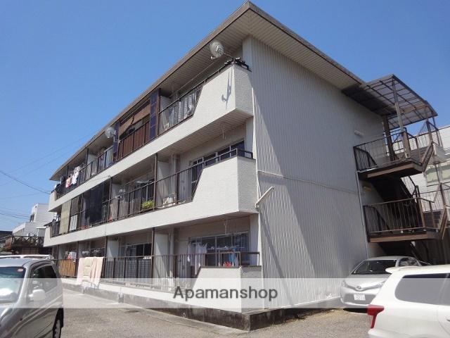 高知県高知市、田辺島通駅徒歩9分の築38年 3階建の賃貸アパート