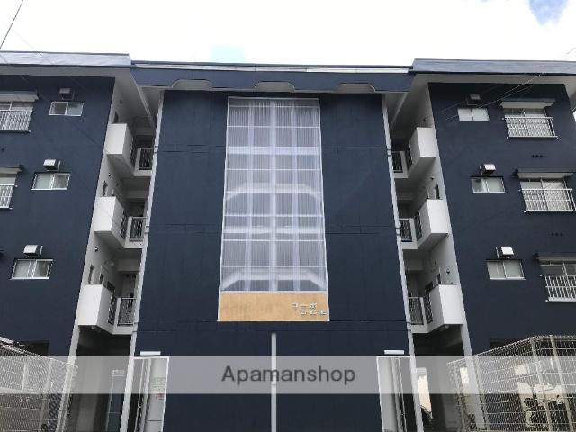 高知県高知市、薊野駅徒歩17分の築30年 4階建の賃貸アパート