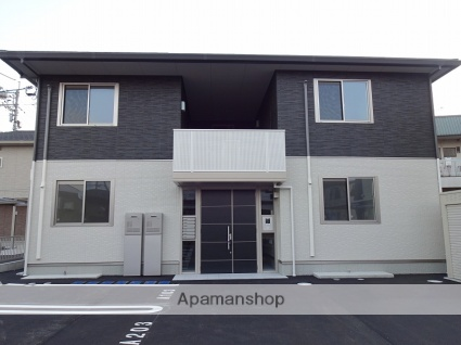 高知県高知市、旭町三丁目駅徒歩17分の築1年 2階建の賃貸アパート