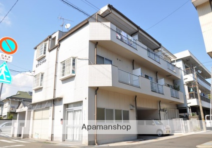 高知県高知市、旭駅徒歩8分の築27年 3階建の賃貸アパート