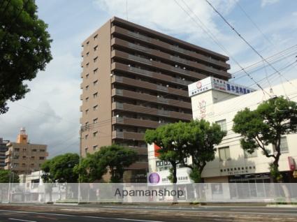 高知県高知市、桟橋通二丁目駅徒歩3分の築17年 13階建の賃貸マンション
