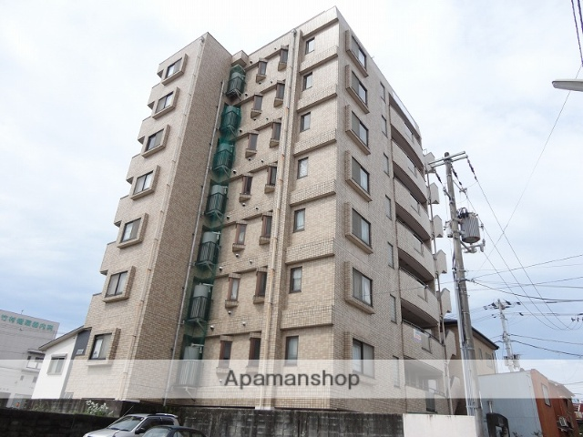 高知県高知市、上町五丁目駅徒歩5分の築18年 8階建の賃貸マンション