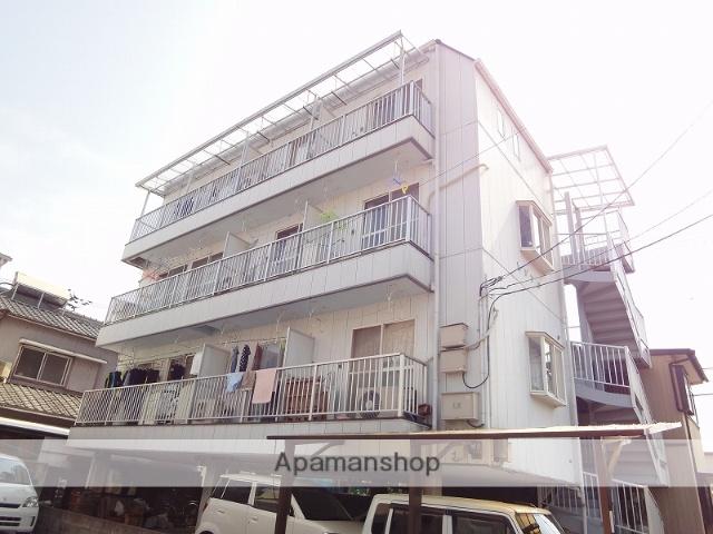 高知県高知市、高知駅徒歩17分の築27年 4階建の賃貸アパート