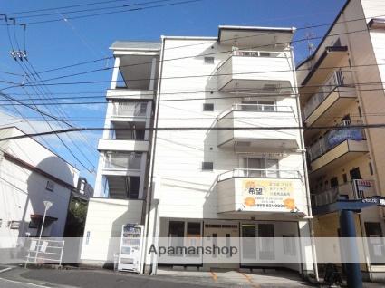 高知県高知市、鴨部駅徒歩6分の築25年 4階建の賃貸マンション