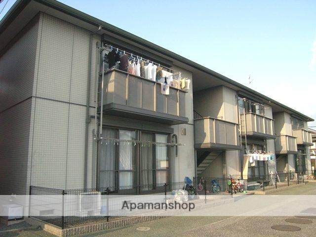 高知県南国市、住吉通駅徒歩12分の築15年 2階建の賃貸アパート