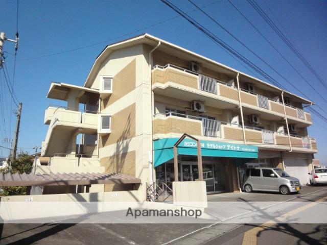 高知県高知市、上町二丁目駅徒歩13分の築24年 4階建の賃貸マンション