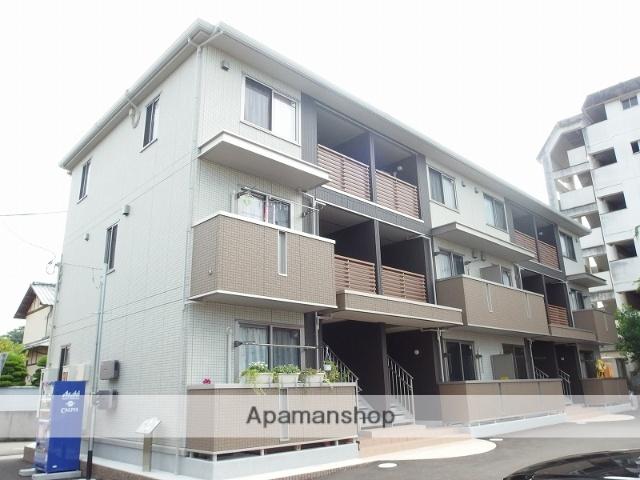 高知県高知市、北浦駅徒歩7分の築3年 3階建の賃貸アパート