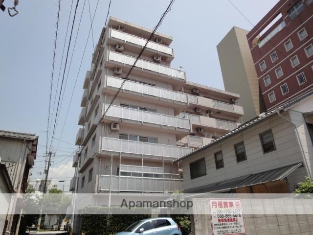 高知県高知市、高知駅徒歩8分の築20年 6階建の賃貸マンション