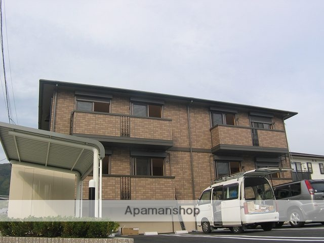 高知県高知市、土佐一宮駅徒歩18分の築10年 2階建の賃貸アパート