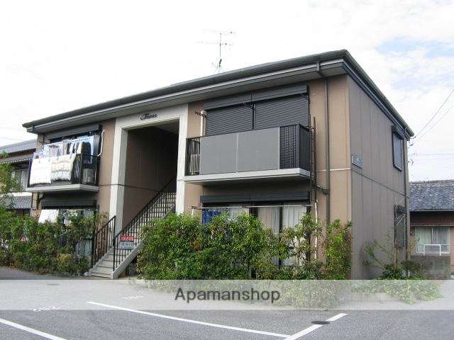 高知県南国市、後免中町駅徒歩8分の築17年 2階建の賃貸アパート
