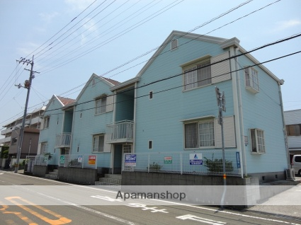 高知県高知市、文珠通駅徒歩8分の築32年 2階建の賃貸アパート