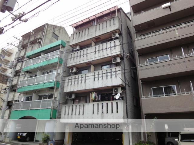 高知県高知市、デンテツターミナルビル前駅徒歩10分の築20年 5階建の賃貸マンション