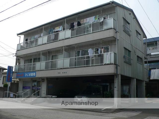 高知県高知市、薊野駅徒歩17分の築23年 3階建の賃貸マンション