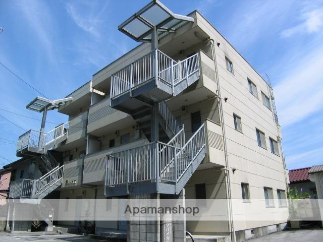 高知県高知市、北浦駅徒歩17分の築19年 3階建の賃貸マンション