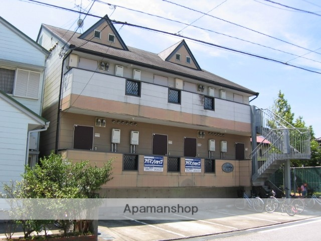 高知県高知市、田辺島通駅徒歩12分の築20年 2階建の賃貸アパート