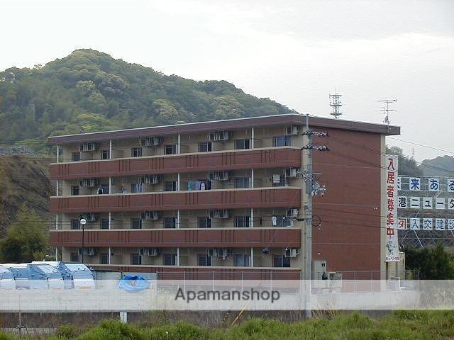 高知県高知市、桟橋通五丁目駅徒歩100分の築14年 4階建の賃貸マンション