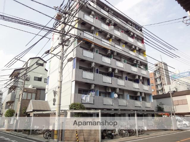 高知県高知市、宝永町駅徒歩4分の築18年 7階建の賃貸マンション