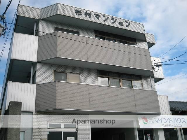 高知県高知市、領石通駅徒歩7分の築32年 4階建の賃貸マンション