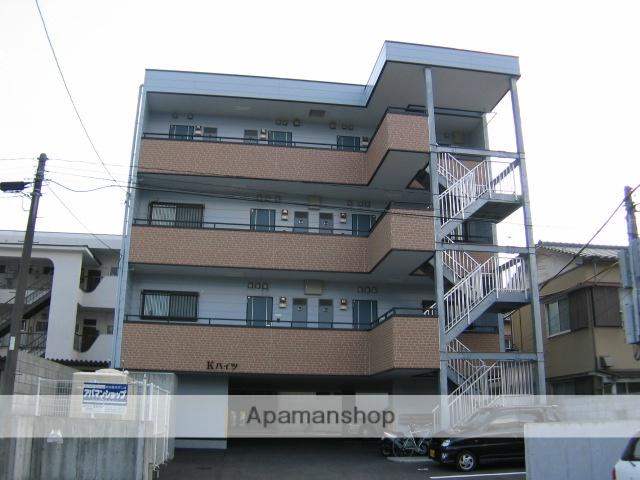 高知県高知市、文珠通駅徒歩4分の築14年 4階建の賃貸アパート