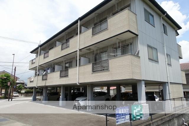 高知県南国市、東工業前駅徒歩3分の築15年 3階建の賃貸アパート