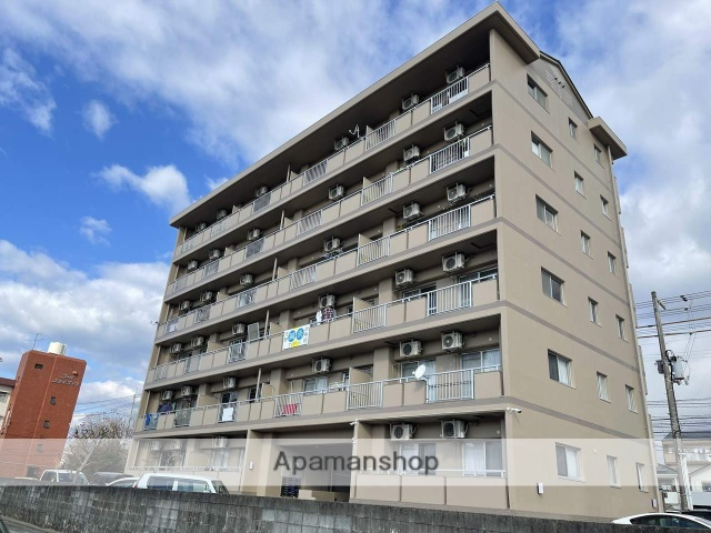 高知県南国市、後免西町駅徒歩5分の築19年 6階建の賃貸マンション