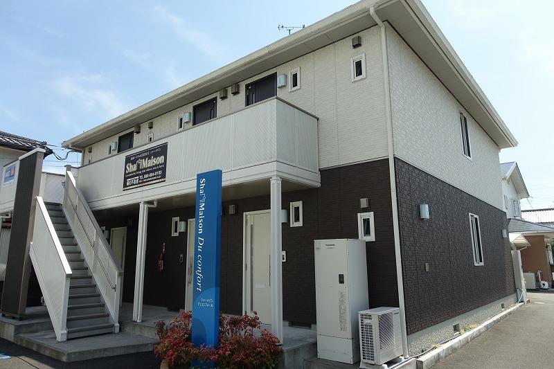 高知県南国市、後免駅徒歩5分の築6年 2階建の賃貸アパート