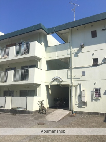 高知県高知市、大橋通駅徒歩7分の築30年 3階建の賃貸マンション